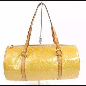 Louis Vuitton yellow signature LV Bedford